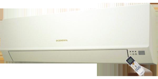 کولر گازی اجنرال 24000
