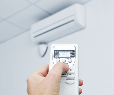 Different parts of air conditioners