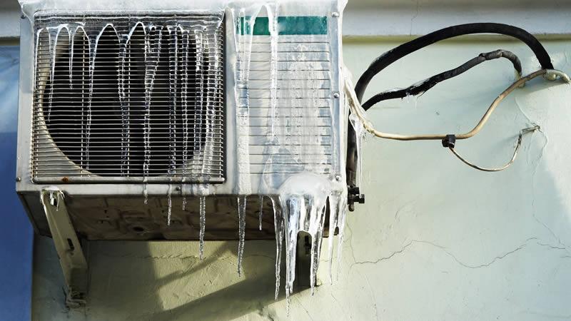 علت یخ زدن کولرگازی