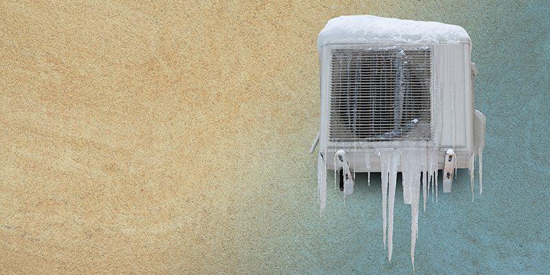 علت برفک زدن کولر گازی